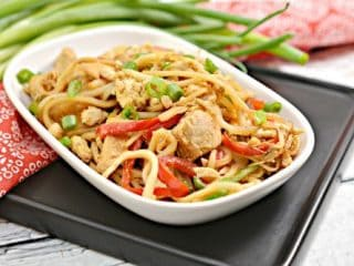 Keto Chicken Pad Thai Recipe