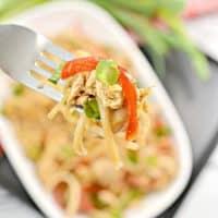 Keto Chicken Pad Thai Recipe