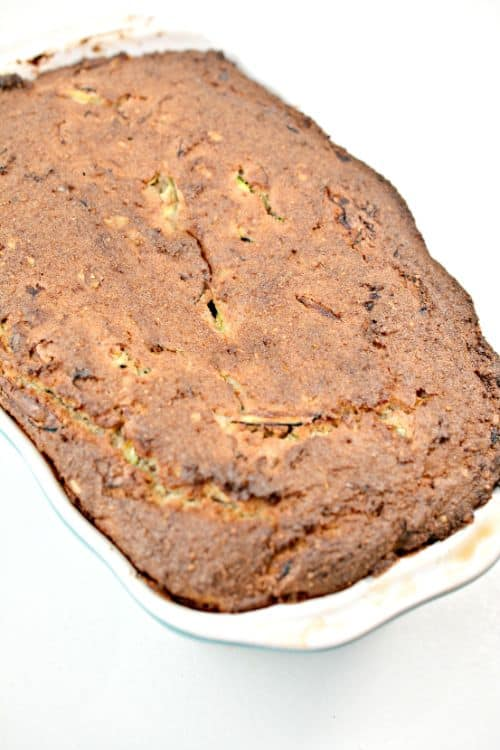 Fully Cooked Keto Zucchini Nut Bread
