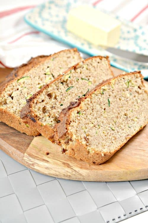 Gluten-Free Zucchini Bread Ingredients
